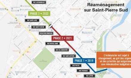 Retour sur la séance d'information – Réaménagement de la rue St-Pierre Sud
