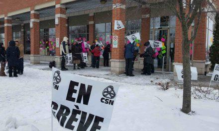 Société des alcools du Québec : trois jours de grève à compter du 16 novembre