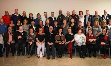 Hommage aux nouvelles personnes retraitées de la Commission scolaire
