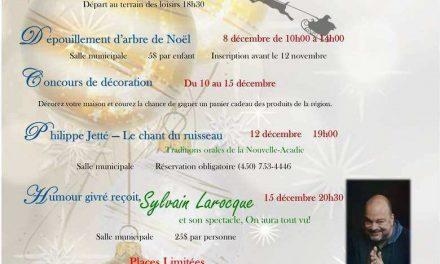 ̶La Municipalité de Saint-Liguori lance la toute première édition de son festival Saint-Liguori en Fête.