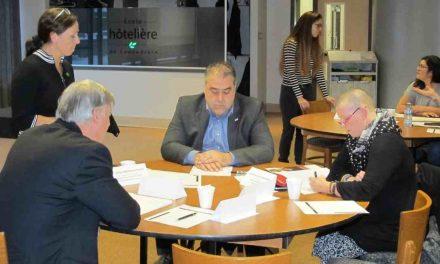 Plan d'engagement vers la réussite 2018-2022 : rencontres entre la Commission scolaire des Samares et les 4 MRC de son territoire