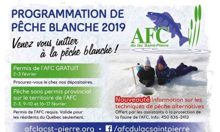 Programmation de pêche blanche 2019