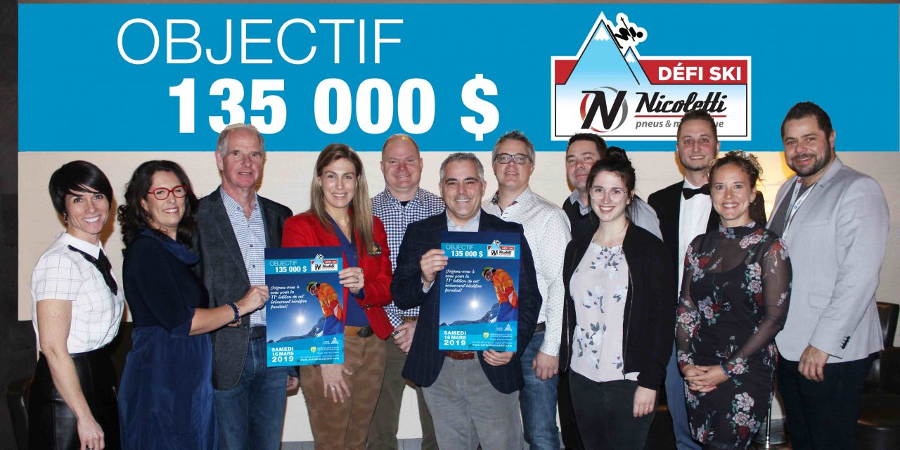 C'est le temps de s'inscrire au Défi Ski Nicoletti pneus & mécanique et de soutenir des projets en santé mentale!