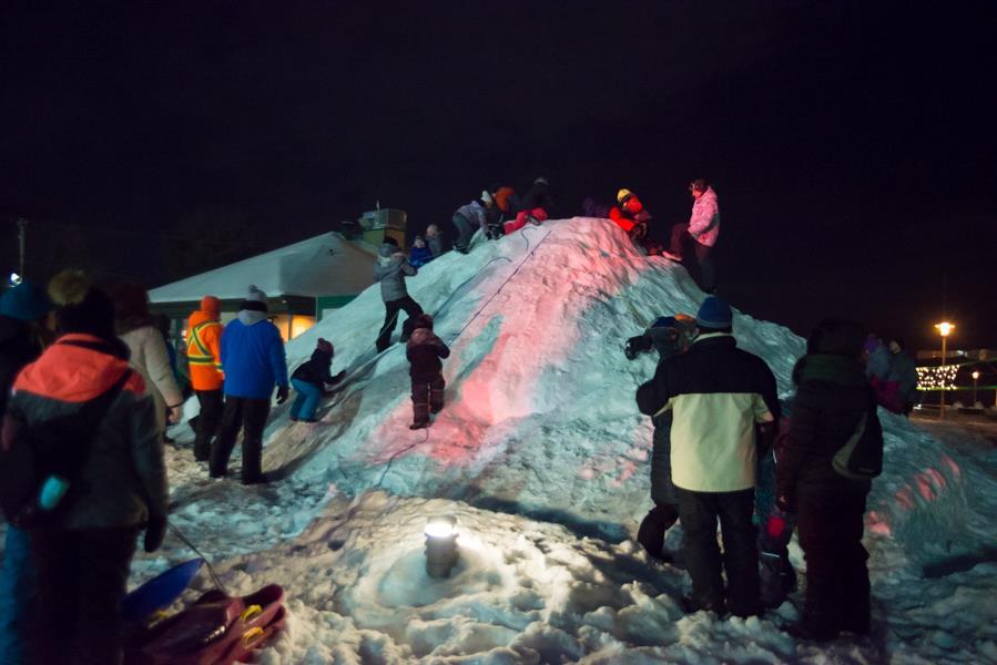 Féerie d'hiver 2019 : les Lavaltrois n'ont pas eu peur du froid glacial!