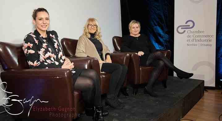 Une soirée sous le signe de l'entreprenariat au féminin à la Chambre de Commerce et d'Industrie de Berthier d'Autray