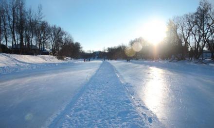 La patinoire sur la rivière L'Assomption ouvrira le 14 janvier