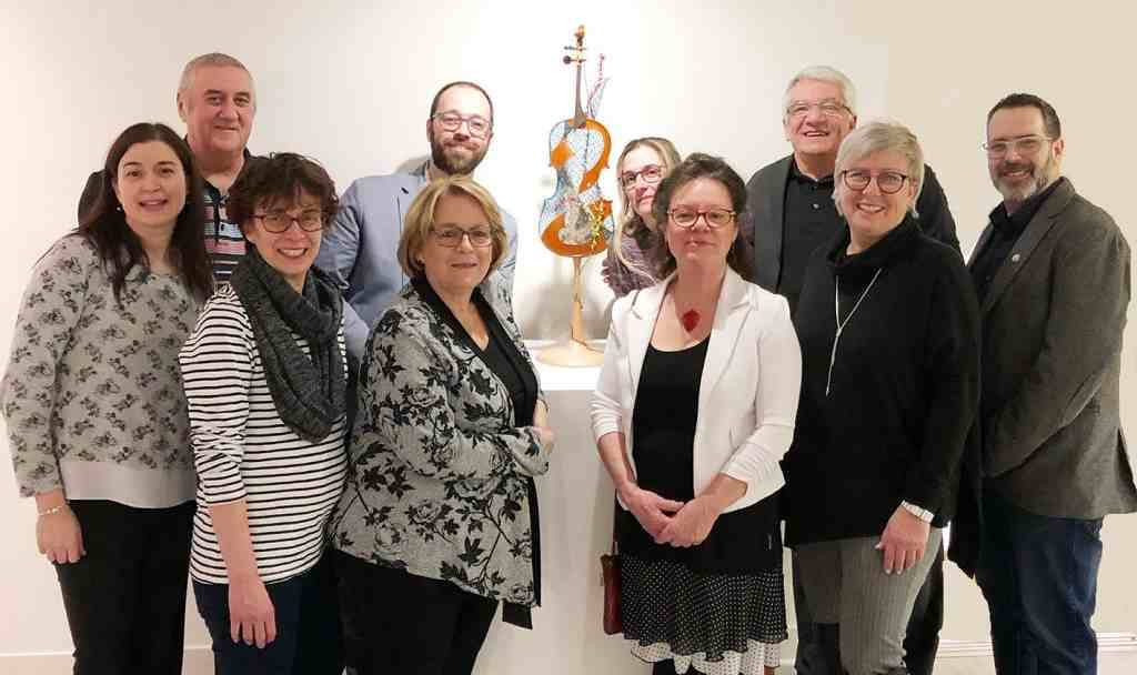 Véronique Louppe fait découvrir la dentelle jusqu'au 23 février au Centre des arts et des loisirs Alain-Larue de Notre-Dame-des-Prairies