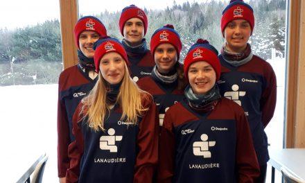 Des athlètes du Club Défi TM Montagne Coupée aux Jeux du Québec