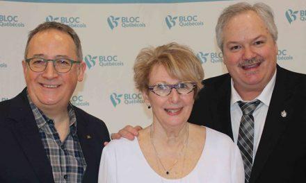 Le Bloc Québécois et Luc Thériault prêts pour les prochaines élections