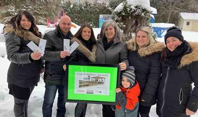 Lancement du projet d'été et loterie Pergola chez Action Famille Lavaltrie