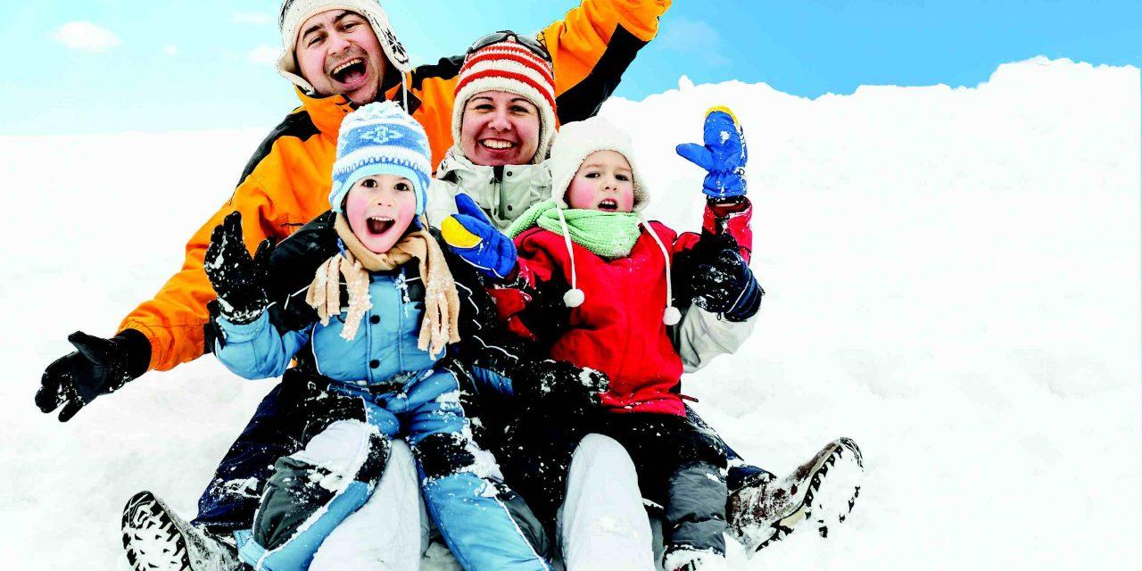 Les Floconnades, les joies de l'hiver en famille!