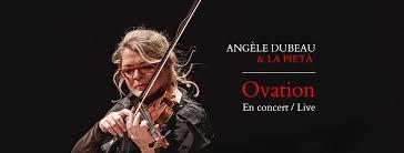 Ovation  d'Angèle Dubeau sélectionné  Album de la semaine (Download of the week) à Los Angeles et San Francisco!