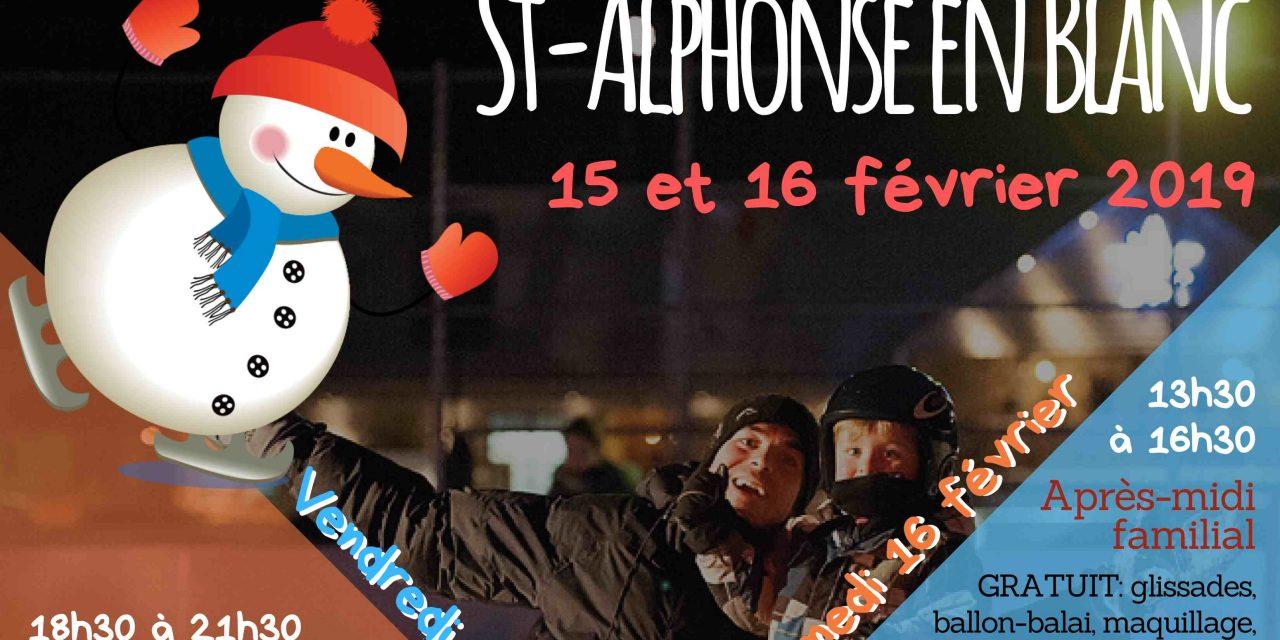 Saint-Alphonse en blanc : le rendez-vous hivernal est de retour pour une 8e édition