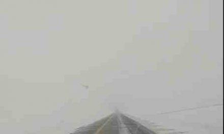 Conditions routières difficiles