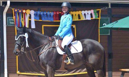 La cavalière Shan Bernier se démarque sur la scène internationale
