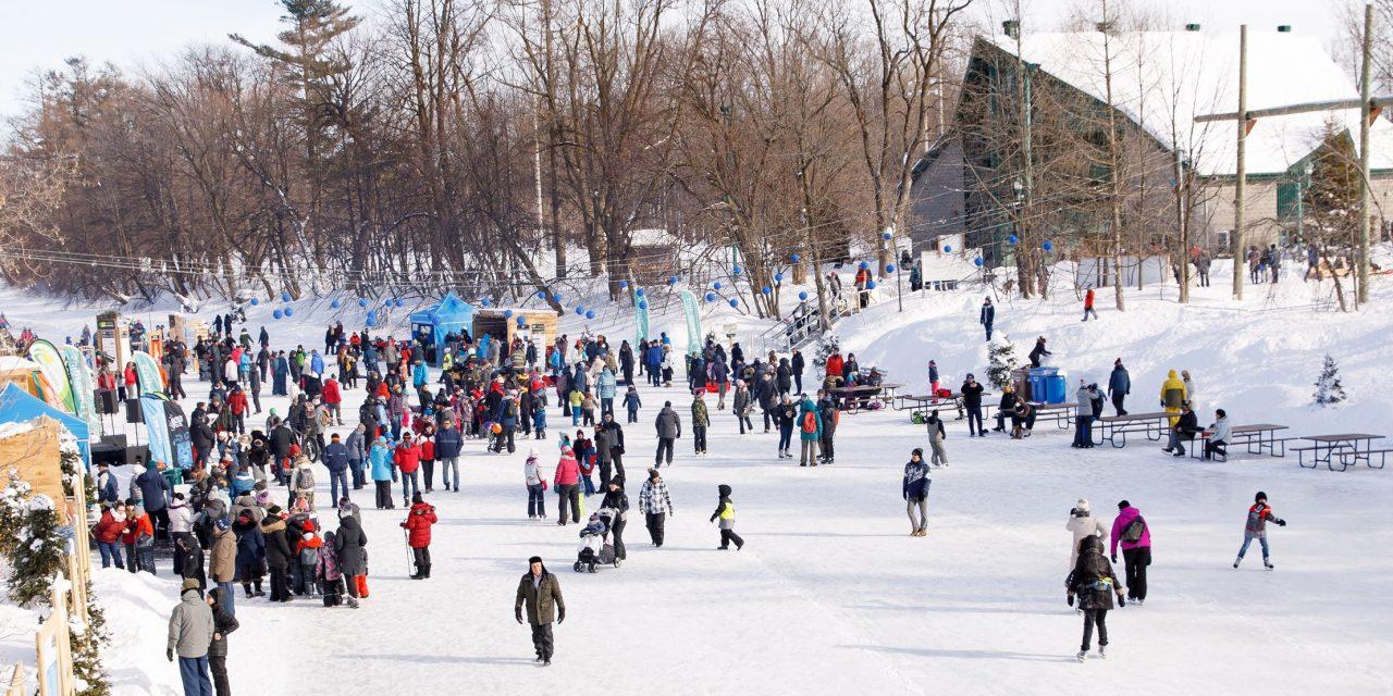 Une saison exceptionnelle pour la patinoire sur la rivière L'Assomption