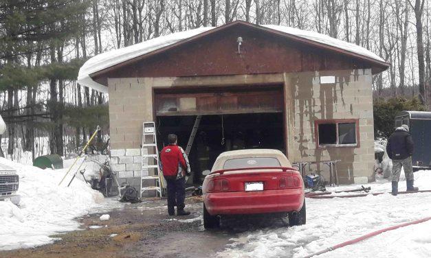 Début d'incendie dans un garage de Notre-Dame-de-Lourdes