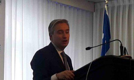 Le ministre François-Philippe Champagne de passage dans Lanaudière