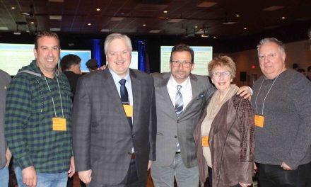 Au cœur du Congrès national du Bloc Québécois : Luc Thériault et la délégation de Montcalm