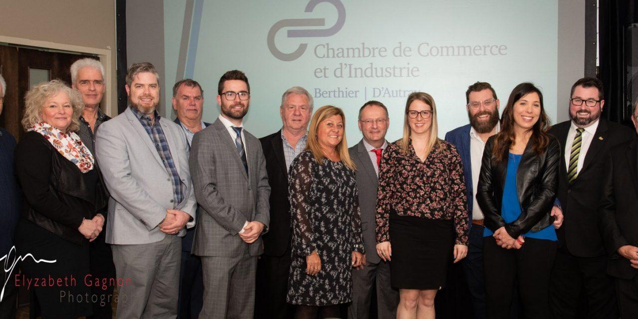 Les experts-entrepreneurs à l'honneur à la Chambre de Commerce et d'industrie de Berthier d'Autray