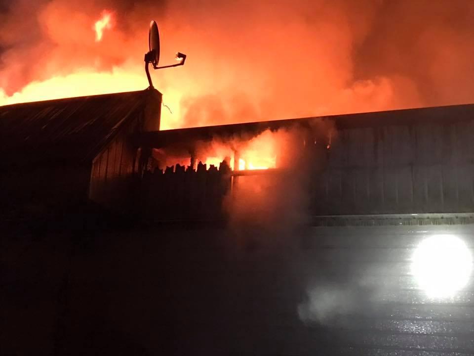 incendie, Saint-Zénon, Sommet du Nord