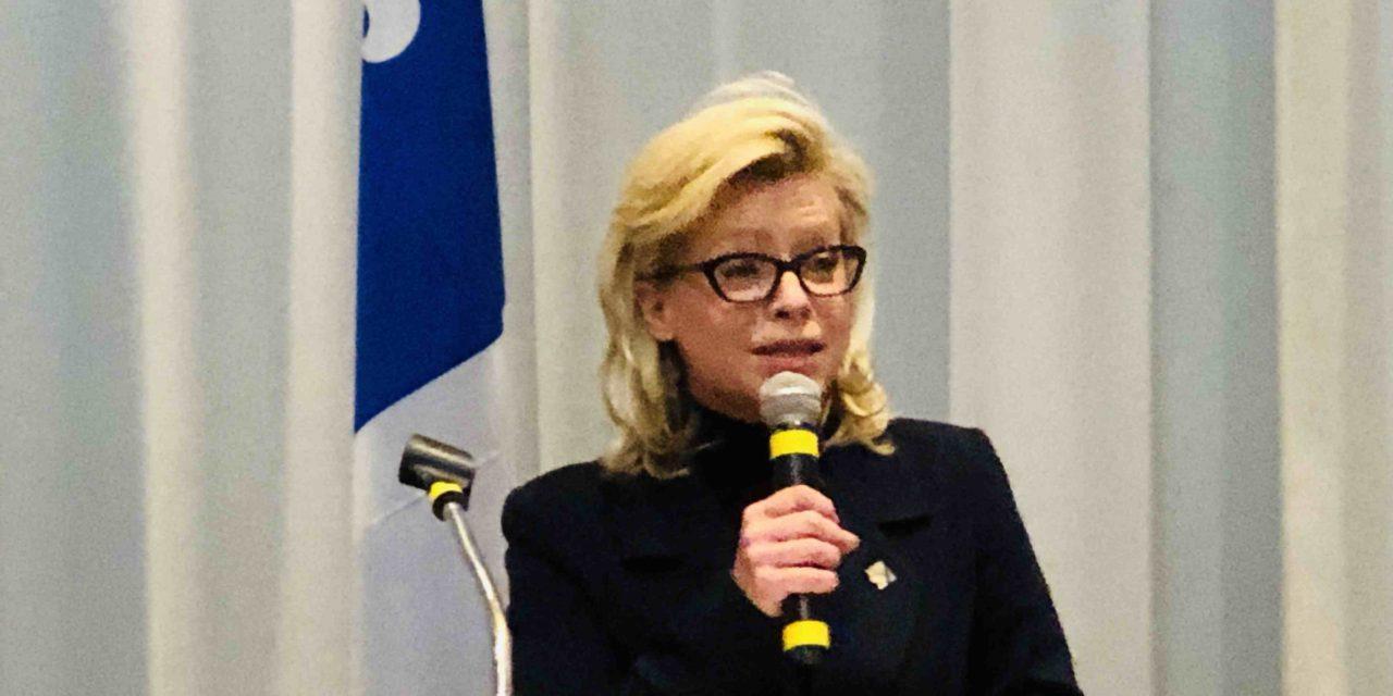 La députée de Berthier applaudit le dépôt du projet de loi sur la gouvernance scolaire