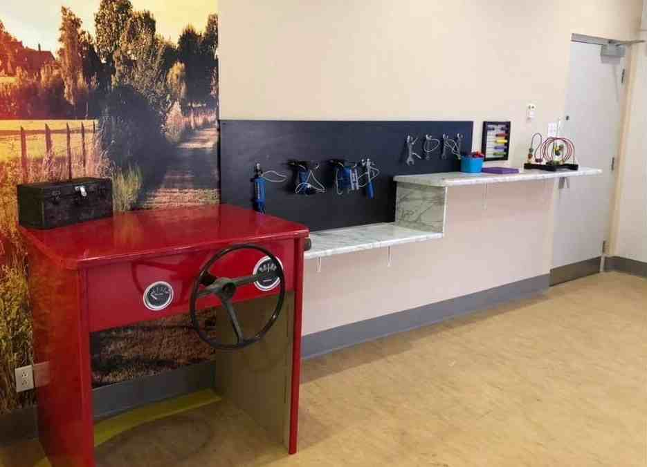 aménagement, salles sensorielles, Centre d'hébergement, Saint-Jean-de-Matha