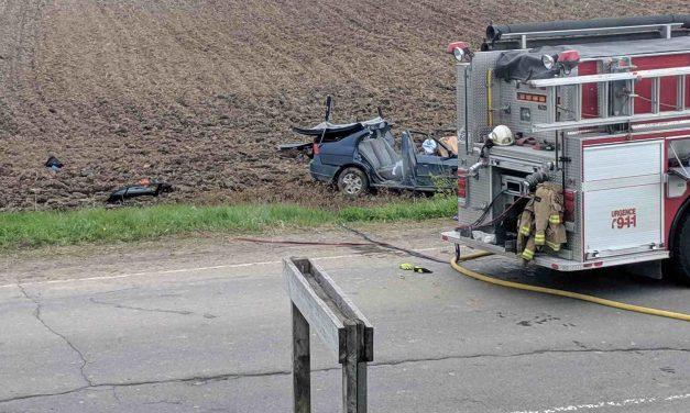 Grave accident de la route à Saint-Mélanie