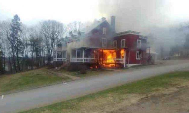 Incendie au CRAPO