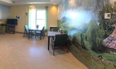 Aménagement de salles sensorielles au Centre d'hébergement de Saint-Jean-de-Matha