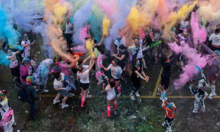 Un autre succès pour la Course haute en couleurs!