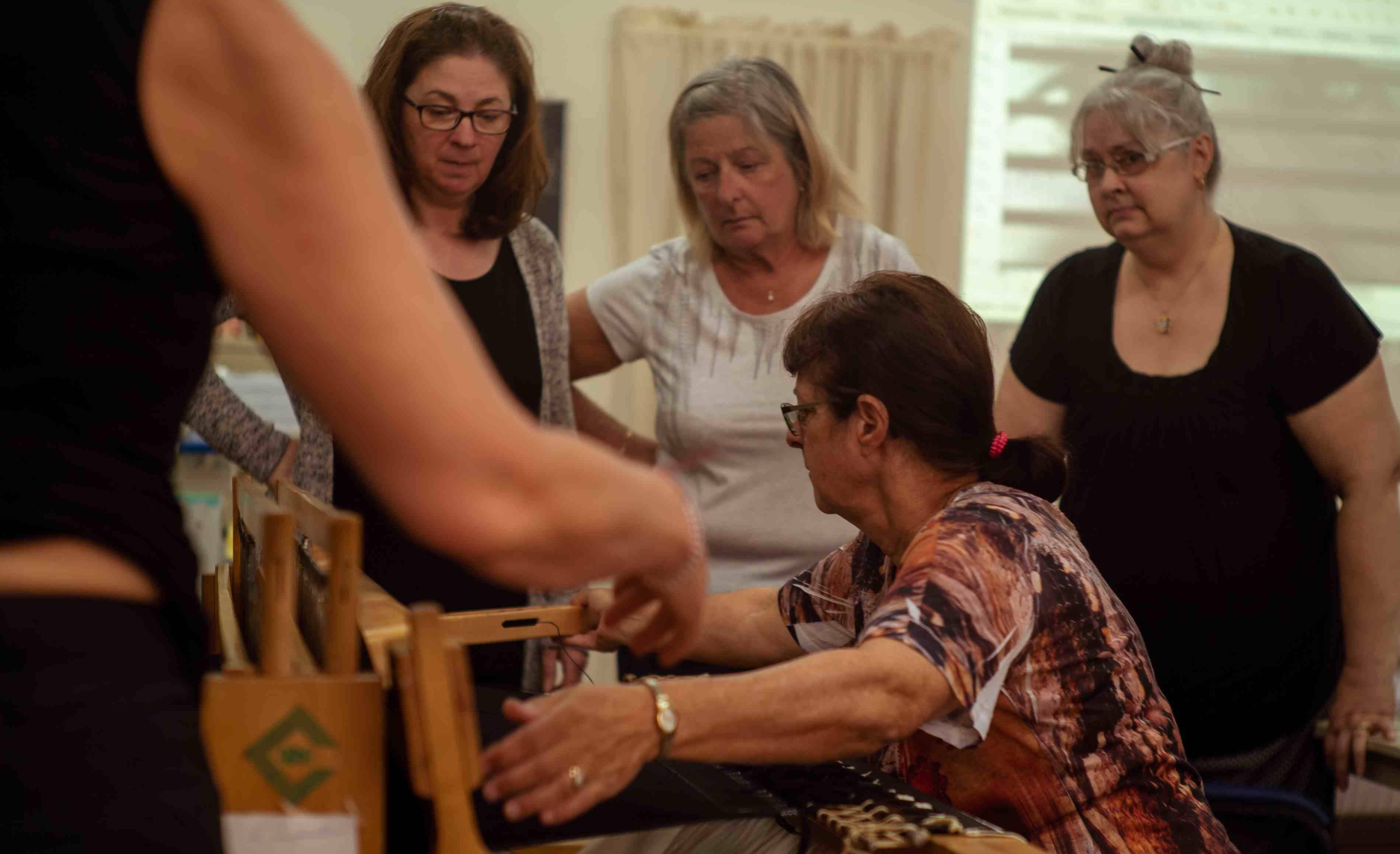 13 femmes, alliance, tissage, art contemporain, MRC de d'Autray