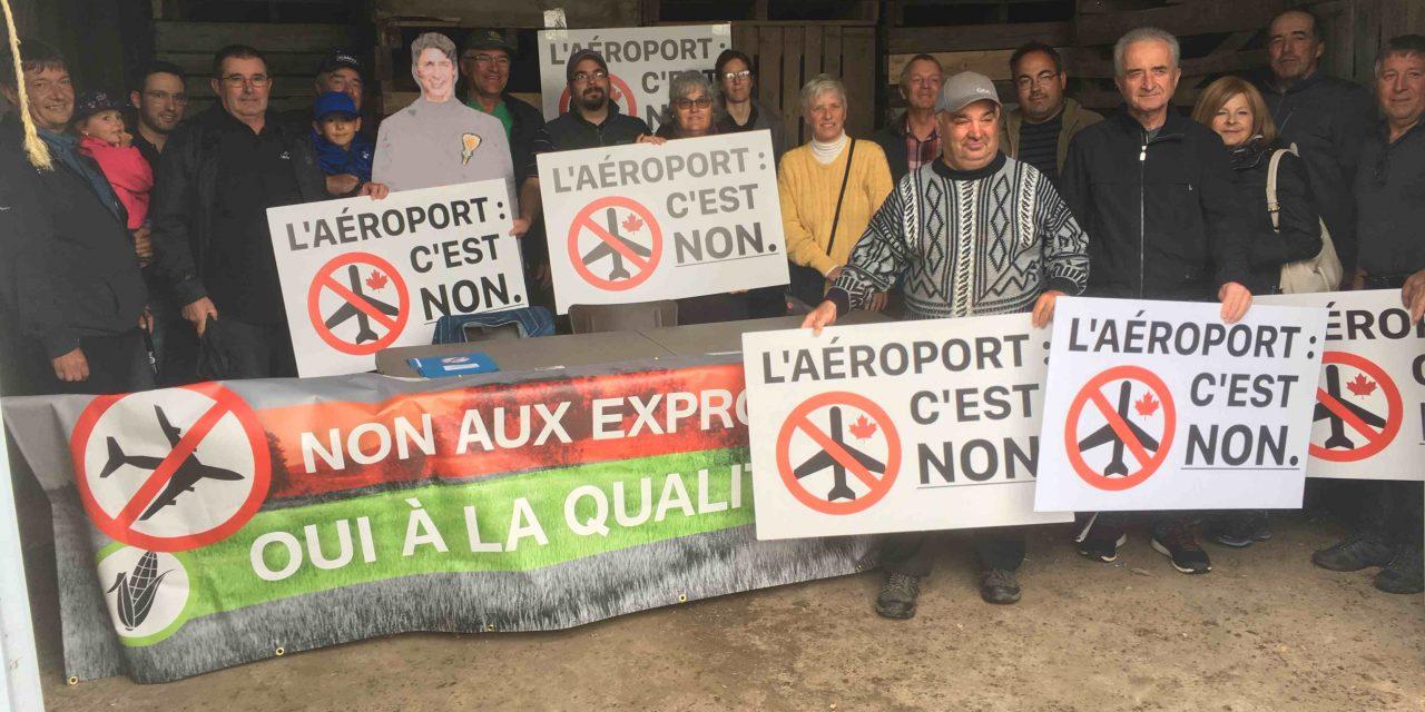L'UPA Lanaudière dénonce le projet d'aérodrome en zone agricole à Saint-Roch-de-l'Achigan