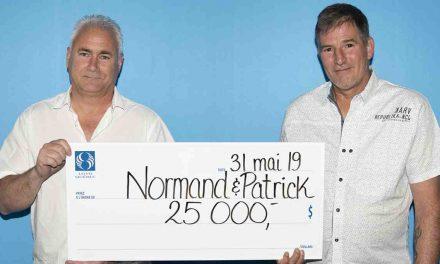 25 000 $ : deux collègues de Lanaudière se partagent un lot de l'Extra