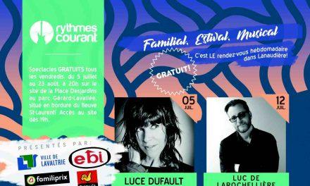Lancement de la programmation été/automne 2019 du Café culturel de la Chasse-galerie