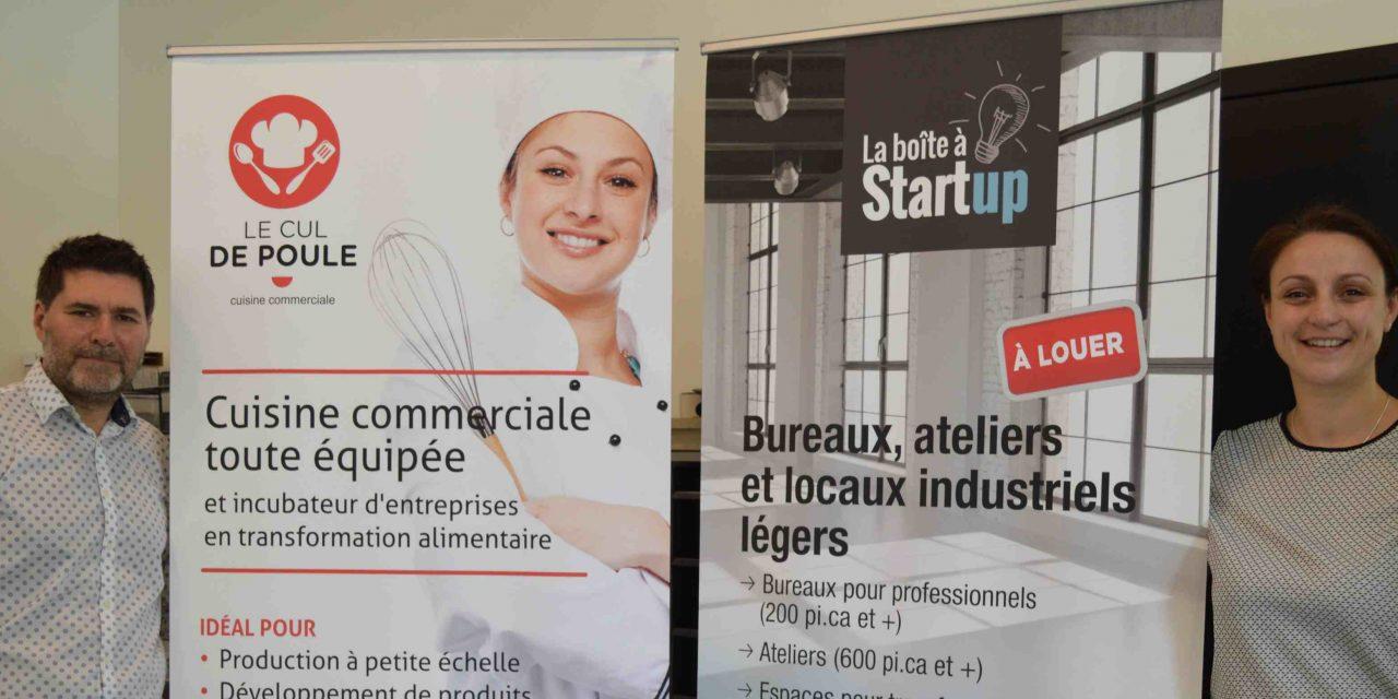 15 000 $ remis à La boîte à Start up de Berthierville