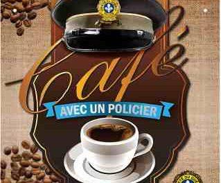 Un café avec un policier de la MRC de d'Autray