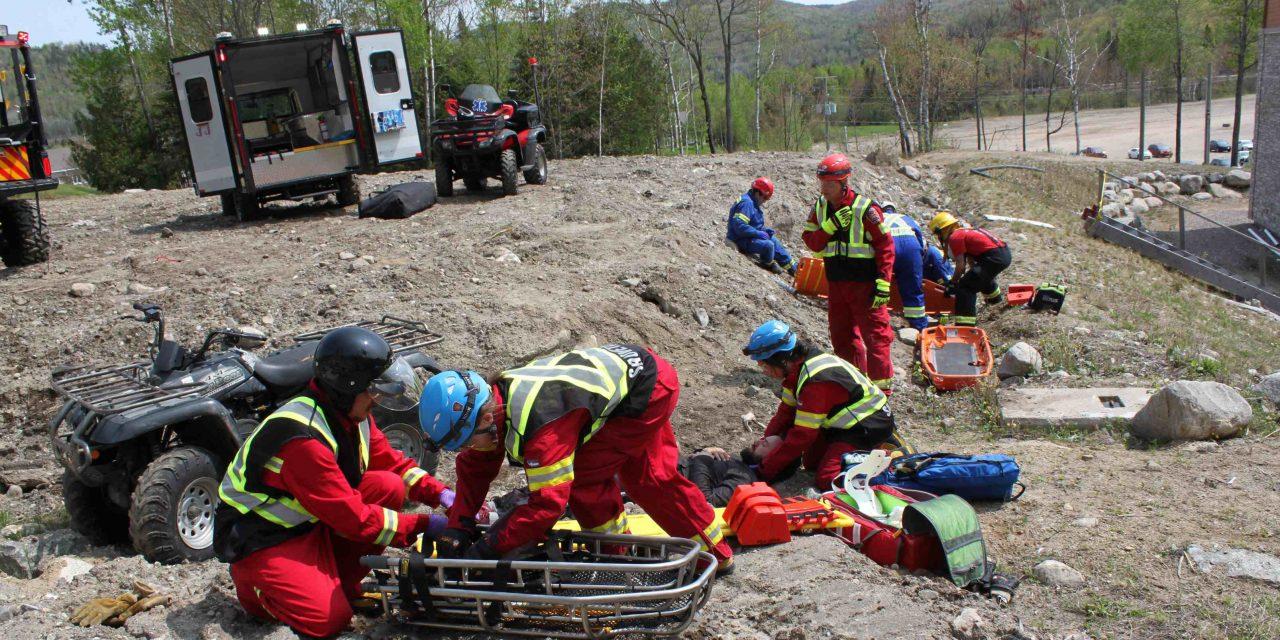 Le service d'urgence en milieu isolé disponible sur tout le territoire de la MRC de Matawinie