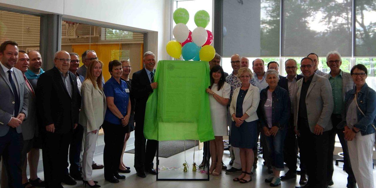 Inauguration de l'école primaire du Ruisseau à Saint-Lin-Laurentides