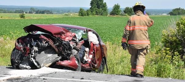 Accident mortel sur la route 158 à Saint-Lin-Laurentides