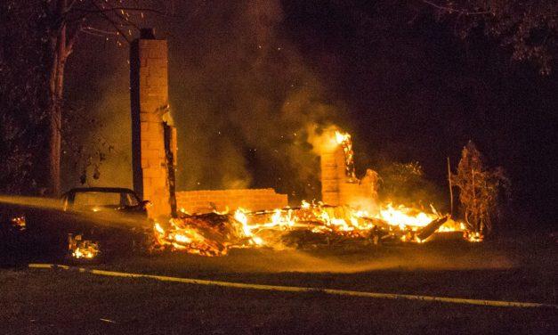 Un garage incendié à Sainte-Geneviève-de-Berthier