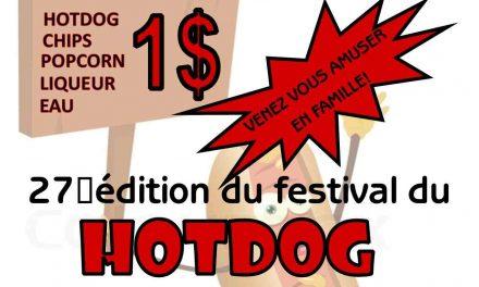 Une 27e édition pour le festival du hotdog du Centre d'action bénévole Émilie-Gamelin