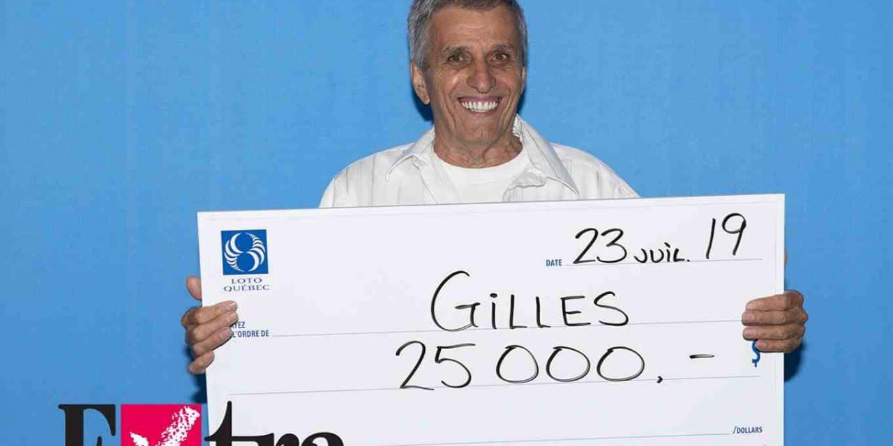25 000 $ – Un résident de Lanaudière gagne à l'Extra