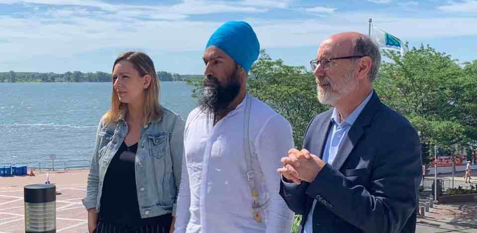 Jagmeet Singh prend des engagements pour lutter contre les changements climatiques