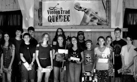 Un don pour les musiciens de la relève du camp Violon Trad Québec