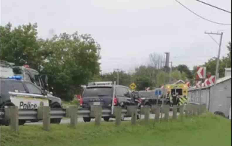 Accident à Saint-Élisabeth: le motocycliste est décédé