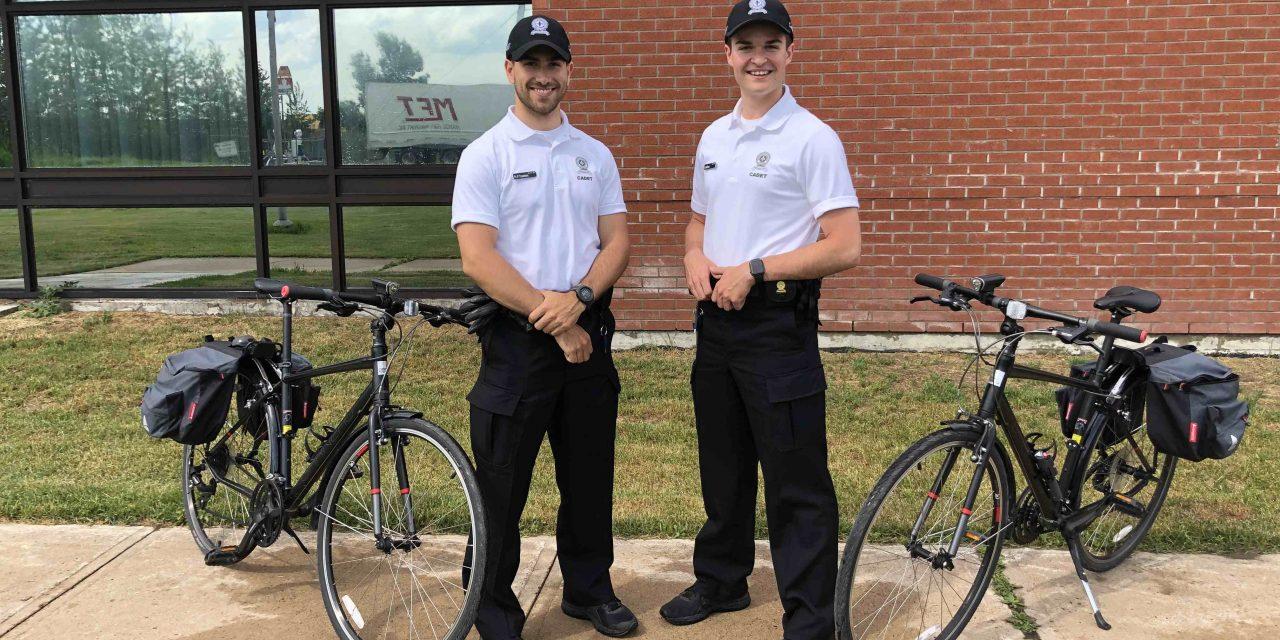Les cadets de la Sûreté sont arrivés à la MRC D'Autray