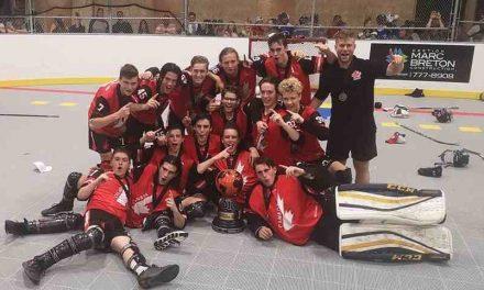 Des hockeyeurs lanaudois champions du monde en hockey balle