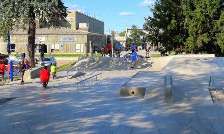 Le Parc de planches à roulettes accueille ses premiers utilisateurs!