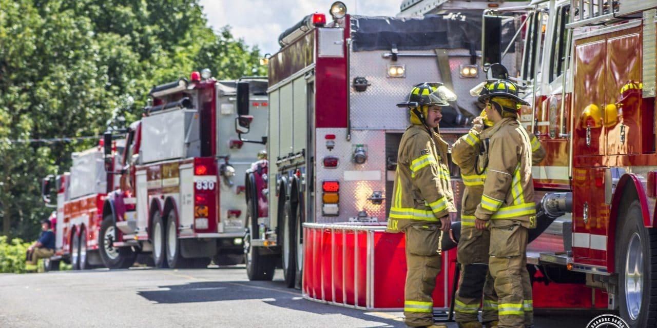 Incendie dans une résidence de Saint-Félix-de-Valois